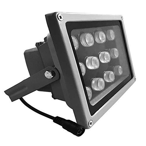 JC 12LED Überwachungskamera Infrarot-Nachtsicht IR-Licht Beleuchtungslampe 40M Für CCTV-Kamera und IP-Kamera