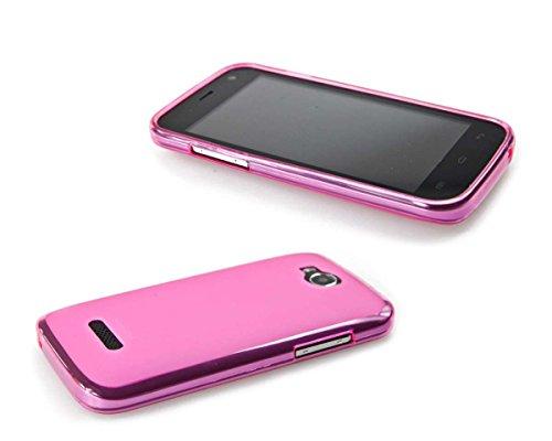 caseroxx TPU-Hülle für Mobistel Cynus F4, Handy Hülle Tasche (TPU-Hülle in pink)