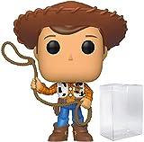 Disney Pixar: Toy Story 4 - Sheriff Woody Funko Pop! Vinyl Figure (Includes Compatible Pop Box Protector Case)