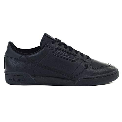 Adidas Continental 80, Zapatillas de Deporte para Hombre, Negro (Negbás/Negbás/Carbon 000), 40 2/3 EU