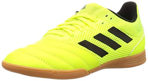 adidas Performance Copa 19.3 Sala Indoor Fußballschuh Kinder Neongelb/schwarz, 38 EU - 5 UK - 5.5 US