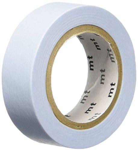 MT Masking Tape MTPASBLUE - Rollo de cinta adhesiva de 10 metros y 15 mm de ancho, color pastel azul