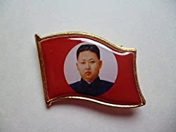 北朝鮮の指導者バッチ
