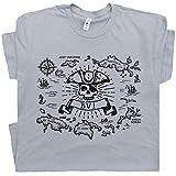 XL - British Virgin Islands T Shirt BVI Rum Sailing Map Jost Van Dyke Treasure Island Blackbeard Pirate Skull Gray