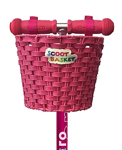 Cesta Scoot: Rosa