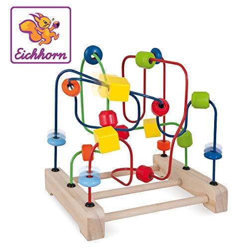 Eichhorn 100003712 Ruban de motricité 18,5 x 23 x 22 cm 3 nœuds
