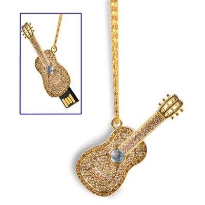 MOHAMED Collar de Guitarra Estilo USB 2.0 Flash Disk, 8GB