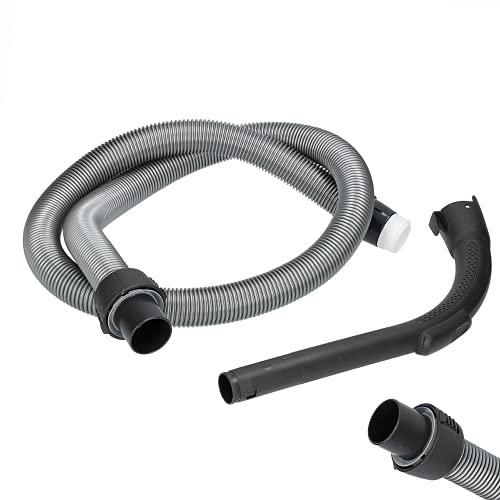 Wessper Tubo Flexible Compatible con AEG / Electrolux 2193351018 Ultra Silencer, Accelerator, Clario, Airmax, Cyclone XL, Maximus, Classic Silence, JetMaxx, ErgoSpace