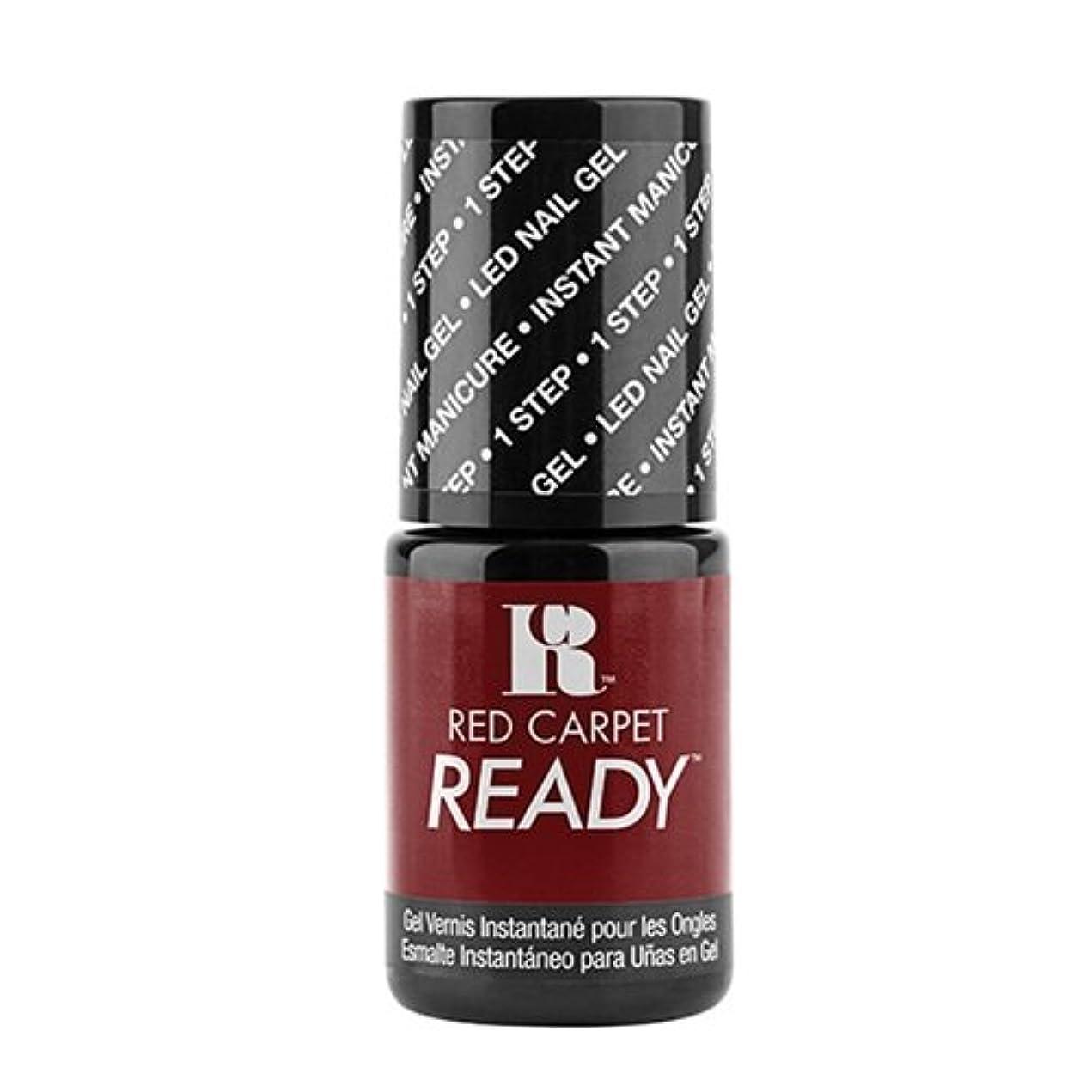 実行可能間に合わせ貫通するRed Carpet Manicure - One Step LED Gel Polish - Polished Pout - 0.17oz / 5ml