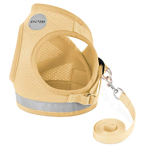 GAUTERF Dog and Cat Universal Harness with Leash