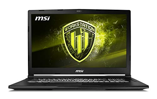 MSI WE63 8SJ-215IT Notebook con Processore Intel Core i7 Coffeelake i7-8750H e Scheda Grafica Nvidia QUADRO P2000 da 4GB GDDR5, Display FHD 16 GB RAM DDR IV, Espandibile a 32 GB [layout Italiano]