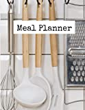 Meal Planner: beautiful meal planner notebook 8.5x11 with 120 pages
