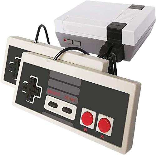 Classic Mini Retro Game Console, AV Output 8-bit Video Game Built-in 500 Games with 2 Classic Controllers