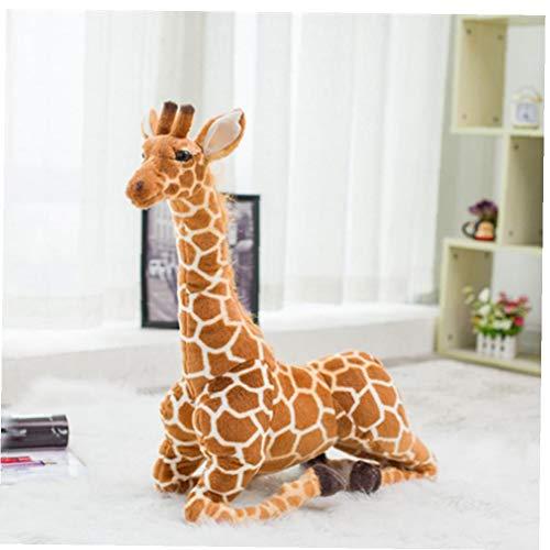BYFRI 1 Huge Real-Life Giraffe Plüsch Stofftier Puppe-weiche Simulation 100 cm lang Giraffen-Geburtstags-Geschenk