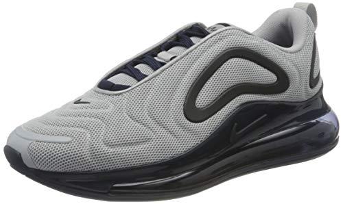 Nike Air MAX 720, Zapatillas para Correr Hombre, Wolf Grey/Obsidian, 45 EU