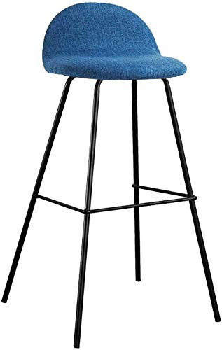 Barkruk, hoge stoel, kruk, hout, voor kantoor, keuken, Europese smeedijzer, hoog, barkruk, barstoel, hoge stoel, keuken, kruk | gebruik 105-115 cm tafel | zes hals