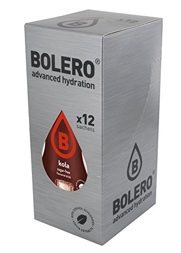 Bolero Drink - Kola mit Stevia (12er Pack)