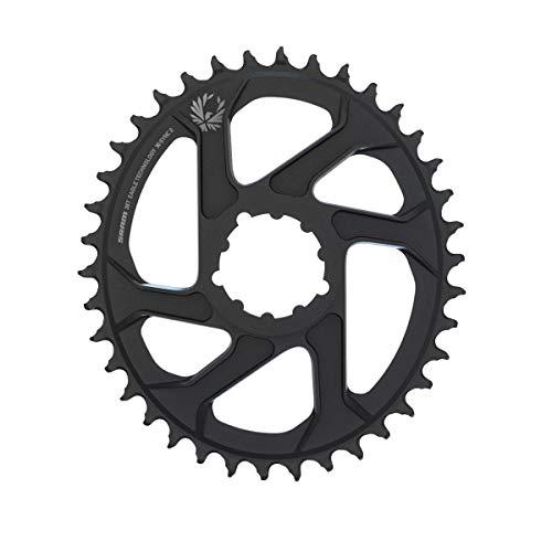 Sram Unisex– Erwachsene X-Sync2 Eagle Kettenblatt, schwarz, 3mm