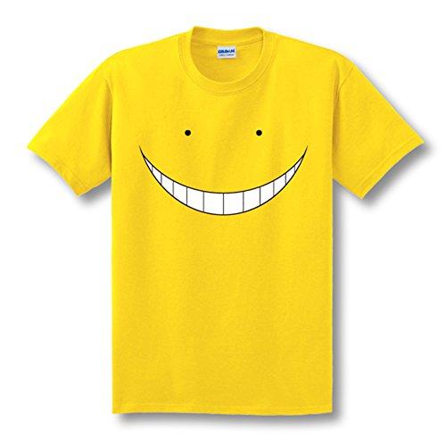 Jeylu New Animation Assassination Classroom Anime Korosensei - Disfraz de talla europea, color amarillo y XXL