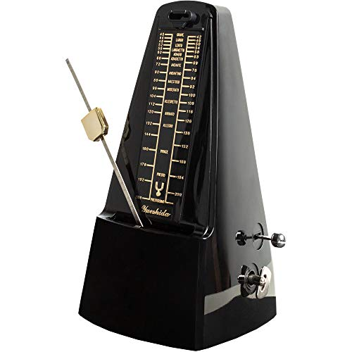 Classic Mechanical Metronome for Musician - Pyramid Design Metronome for Piano Guitar Drums Bass Violin Track Tempo and Beat Accessories Best Gift Idea for Beginners Musican by Creatov