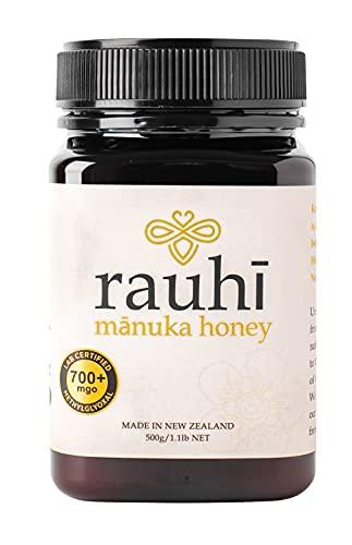 マヌカハニー ラウヒ MG700+ MGS18+相当 500g マリリ ニュージーランド 生はちみつ 純粋ハチミツ 蜂蜜 非加熱 無添加