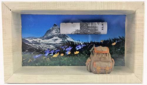 Geldgeschenk Gutschein wandern Alm Hütte GS022