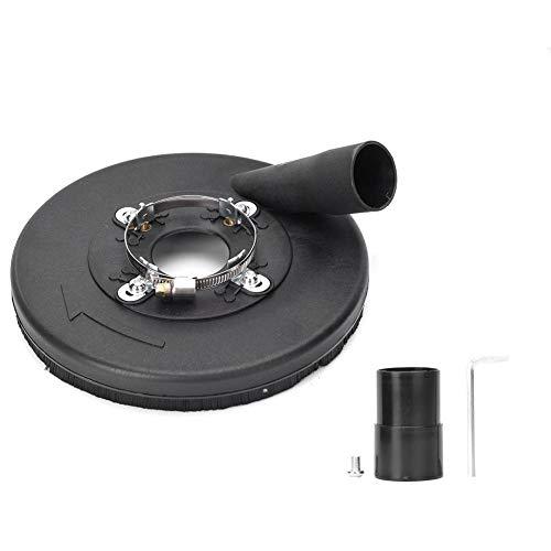 Cubierta antipolvo para amoladora angular, B-180D Cubierta antipolvo especial para pulido de 7 pulgadas para amoladora angular de 180 mm o 230 mm