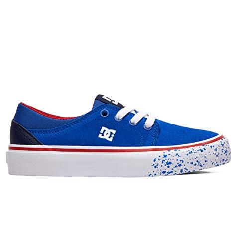 DC Shoes Trase Se, Zapatillas de Skateboard para Niños, Azul (Navy/Red Nrd), 36 EU