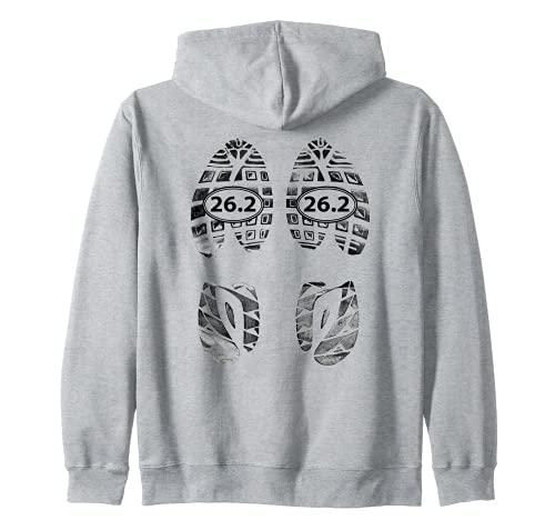Marathon Runners Gifts – 26.2 Chaussures de course Sweat à Capuche