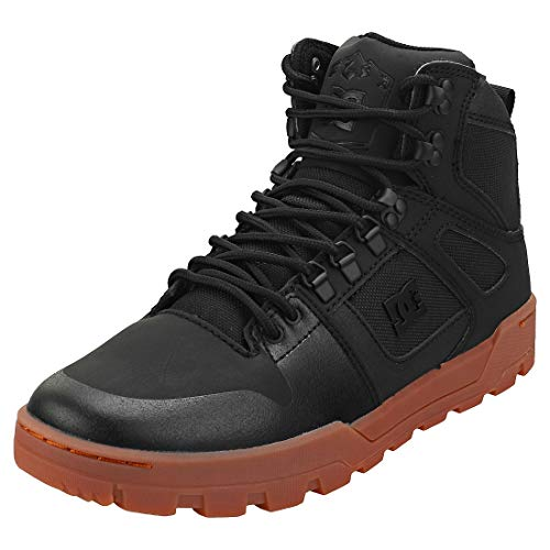 DC SHOES PURE HIGH-TOP WR BOOT Sneakers hommes Zwart Hoge sneakers