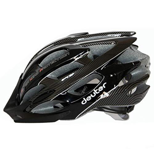 JM- Mountainbike-Reithelm für Erwachsene, einteilig mit Rücklichtern