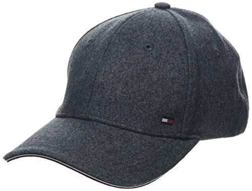 Tommy Hilfiger Herren Elevated Corporate Baseball Cap, Grau (Grey 0it), One Size (Herstellergröße:OS)