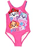 Paw Patrol Girls One Piece Swimsuit Swimwear (3T, Pink)