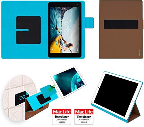 Hülle für Medion Lifetab P10601 Cover Hülle Bumper | in Braun | Testsieger