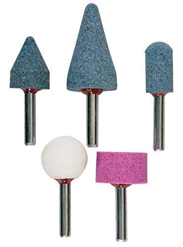 KWB 49510000 Set muelas abrasivas de ceramica, 5 piezas