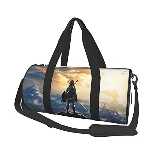 Game Theme The Legend of Zelda - Bolsa de viaje unisex con diseño de The Legend of Zelda
