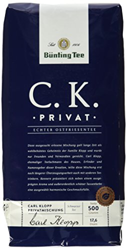 Bünting Tee -   C.K. Privat Echter
