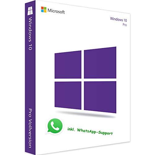 MS Windows 10 Pro Professional LIZENZ KEY - vorab E-Mail Versand (24 Std.) + Postbrief / 32 & 64 Bit - Vollversion - Original Lizenzschlüssel - 1 PC + Anleitung von U-S-B Unleashed-Shop-Bolt®