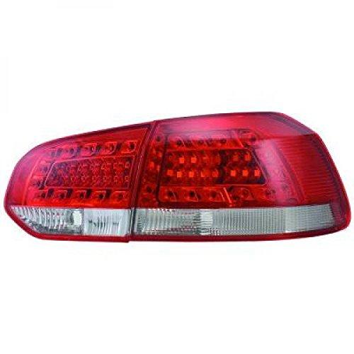in. pro. 2215995 arrière Lampes, rouge/blanc/transparent