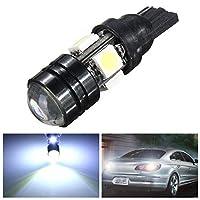 車の方向指示器 T10車LEDの自動ランプ5W-12Vの清潔な球根が付いている2つの焦点レンズが閉じ込められていない