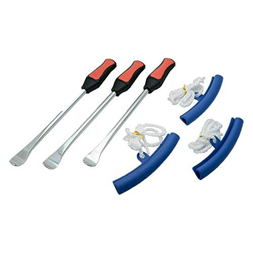 Riloer Set di cucchiai per leve per pneumatici - 3 pezzi Cucchiaio per leva per pneumatici - 3 kit...