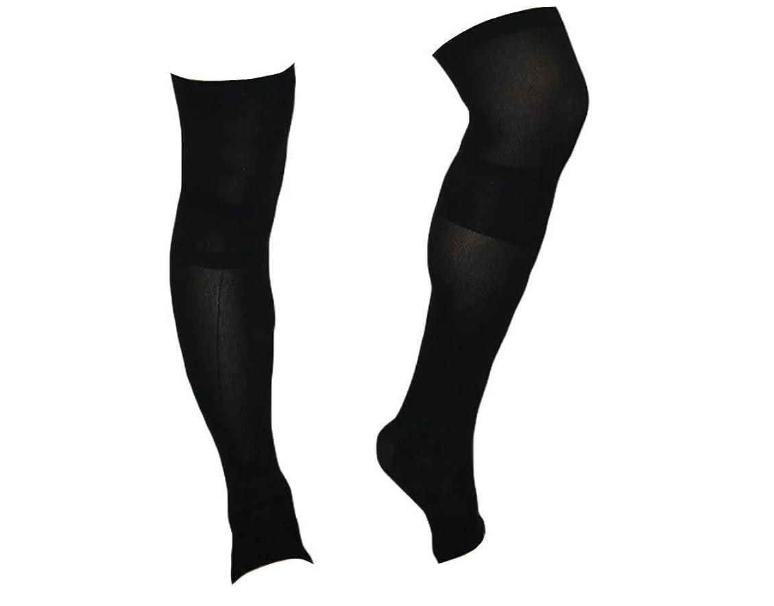 着圧ソックス スパルタックス メンズ 加圧 ソックス 靴下 男性用 (ひざ上丈)