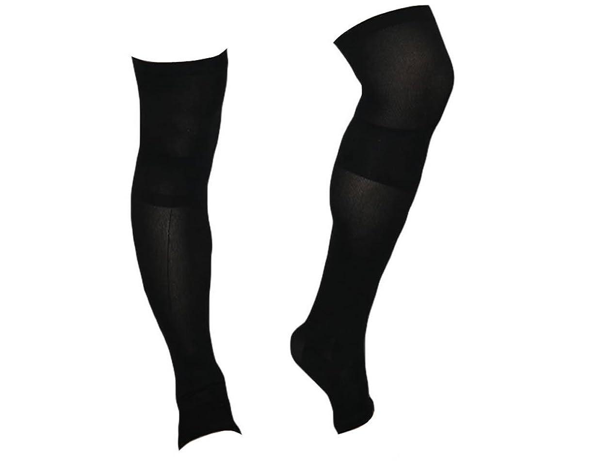 入植者セクタ囲い着圧ソックス スパルタックス メンズ 加圧 ソックス 靴下 男性用 (ひざ上丈)
