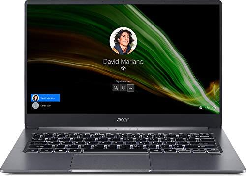 Notebook Acer Swift 3 SF314-57-57VY Intel Core I5 16GB 256GB SSD 14' Windows 10
