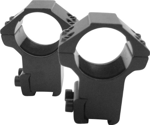"""M1SURPLUS Heavy Duty Scope Mount Rings for Scopes with 1"""" Tubes - This Item Fits 3/8 Dovetails On Crosman Recruit Diana RWS Model 34P Model 34 350 460 48 54 Air Rifles"""