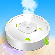 Household Appliances Portable Square UV Sterilization Anion Air Purifier Car Home Air Humidifier (White) Household Applian...