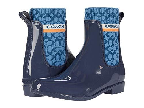 COACH Rivington Rain Bootie Ombre Blue 7 B (M)