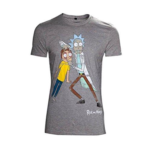 Rick & Morty T-Shirt Crazy Eyes Size L Bioworld shirts
