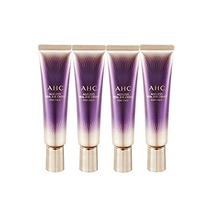潮嫌なマニフェストAHC 2019 New Season 7 Ageless Real Eye Cream for Face 1 Fl Oz 30ml x 4 Anti-Wrinkle Brightness Contains Collagen