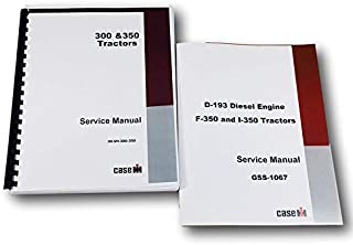 International Farmall 350 Tractor Diesel Engine Chassis Service Repair Manual